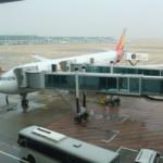 アシアナ航空 仁川国際空港→関西国際空港 機内食20111128