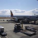 アシアナ航空 関西国際空港→仁川国際空港 機内食20120208