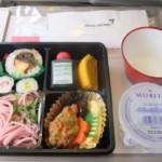 アシアナ航空 関西国際空港→仁川国際空港 機内食20120831