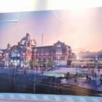 ソウル駅旧駅舎の工事