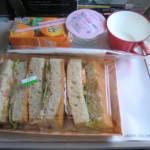アシアナ航空 仁川国際空港→関西国際空港 機内食20110319