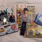 韓国雑誌「Ceci」2011年9月号付録