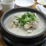 百済蔘鷄湯★ソウルでひとりごはん