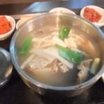 朝食にテグタン(タラ鍋)を食べました