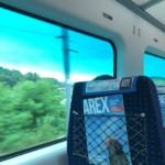 スーツケースをホテルに送り、直通列車でソウル駅へ
