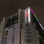 ホテルスカイパークキングスタウン東大門の夕暮れ